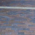Pflasterklinker mit Granitbänderung